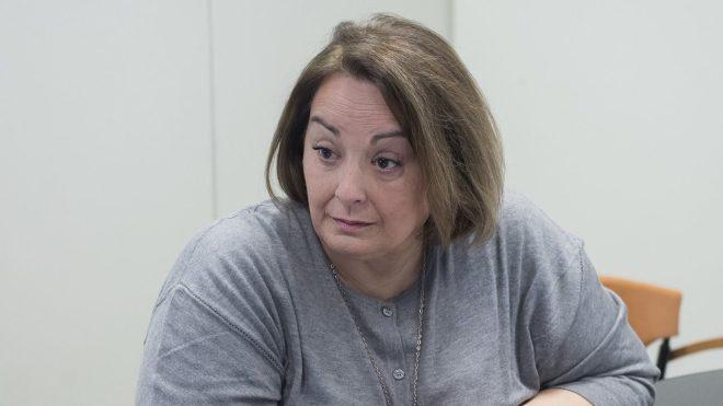 Pilar Bartolomé, directoara general de Personal del Servicio Andaluz de Salud (SAS).
