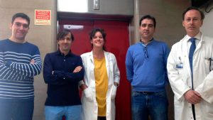 Investigadores CiberCV en la Fundación Jiménez Díaz, de Madrid.