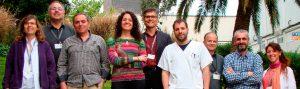 Investigadores del CiberCV de la Santa Cruz y San Pablo, de Barcelona.