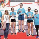 Ganadores de la Categoría Infantil Femenina
