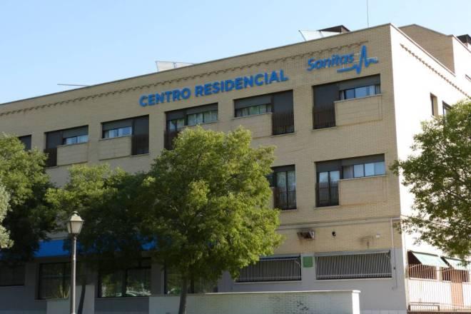 Foto residencia en Alcorcón (imagen tomada de la web del centro).