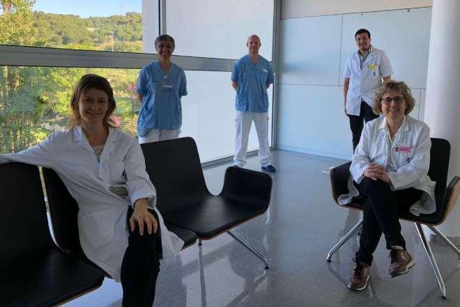Equipo de neurorehabilitación postcovid del I. Guttmann.
