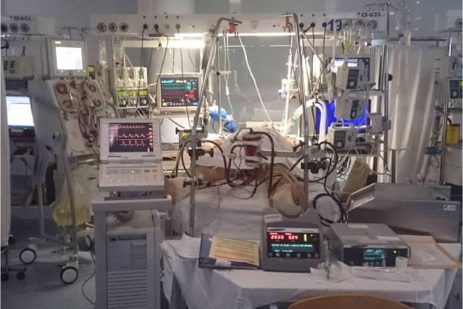Paciente Crítico en una UCI.
