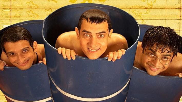 10 mejores películas de Bollywood. 3 Idiots