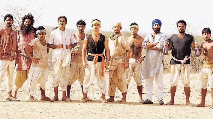10 mejores películas de Bollywood. Lagaan, érase una vez en la India