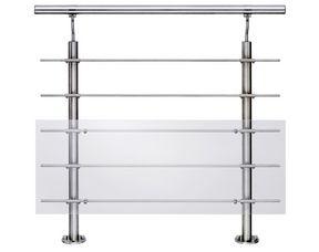 Main Courante Cylindrique En Inox Escaliers
