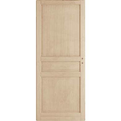 Porte Coulissante Chene Plaque Classique Portes Lapeyre
