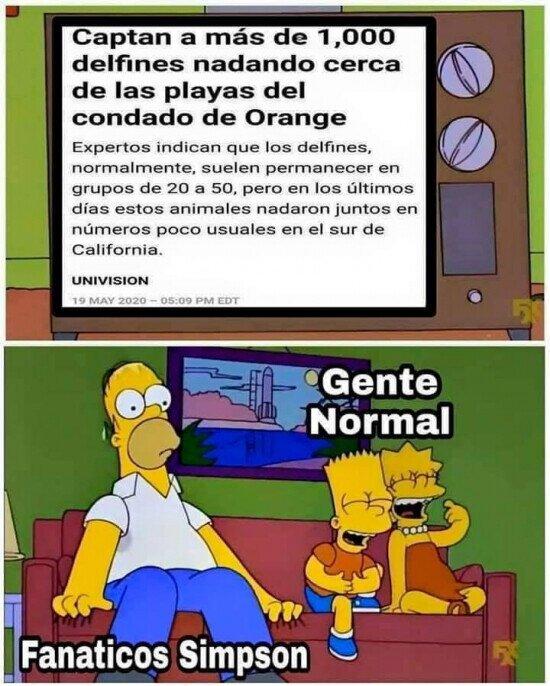Espero que los Simpson no hayan predicho eso también...