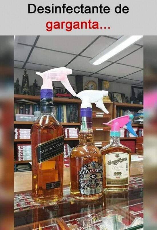 Muchos son de utilizar más este tipo de alcohol