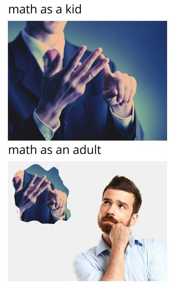 Tu forma de hacer cálculos al crecer