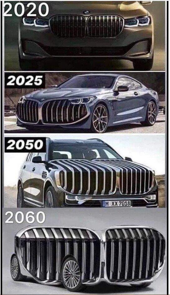 La evolución natural de los coches