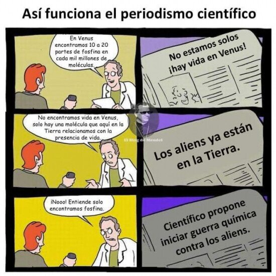 Periodismo científico