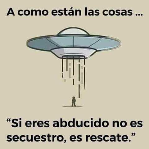 Aliens, venid a por mí