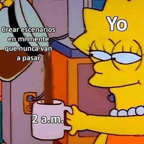 Cualquier cosa menos dormir