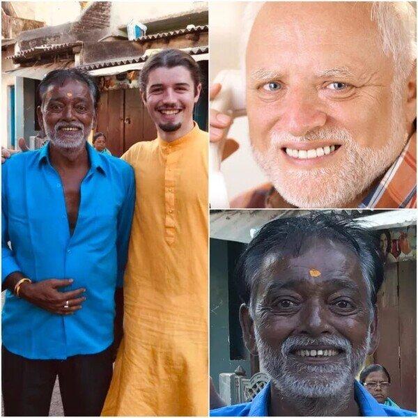 ¡Encontraron al Harold indio!