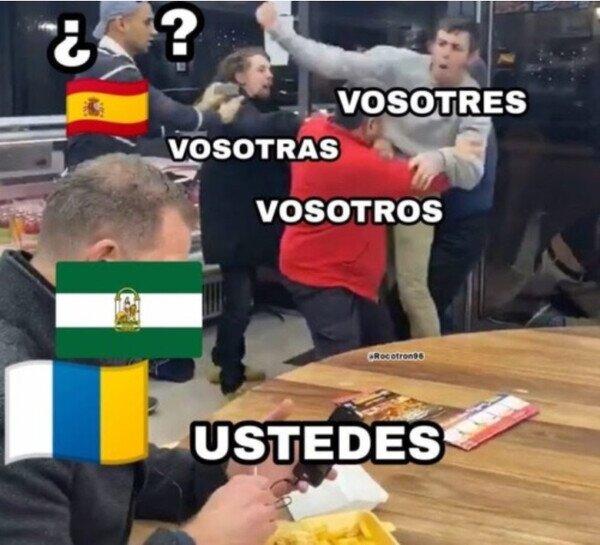 Andaluces y canarios no tienen ese problema