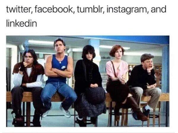 Si las redes sociales se juntaran