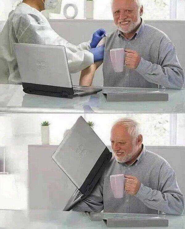 Vacunaron a Harold