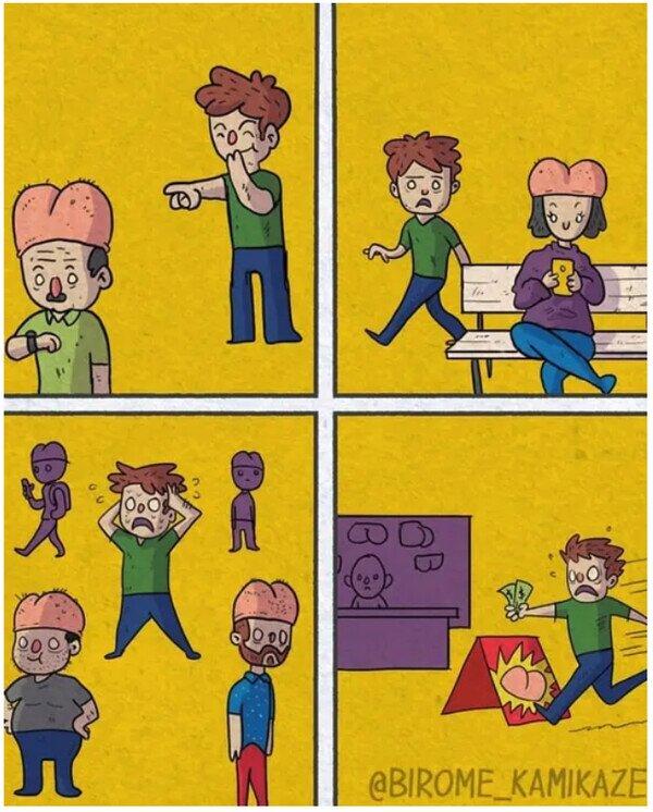 Así funciona nuestra sociedad