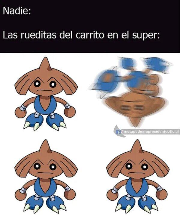 Ruedas Hitmontop