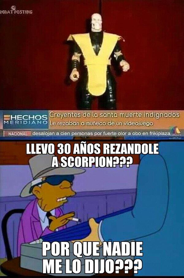 El Dios Scorpion