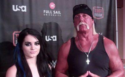 Hulk Hogan happy about Paige's return