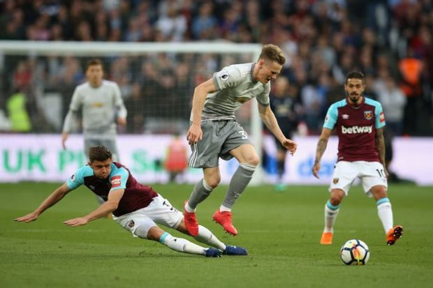 Cresswell was unafraid to tackle strongly as West Ham frustrated their visitors