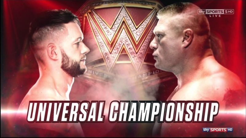 Image result for wwe brock lesnar vs finn balor