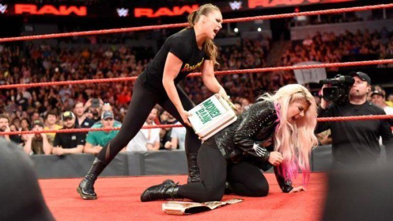 Ronda Rousey looked amazing on Raw.