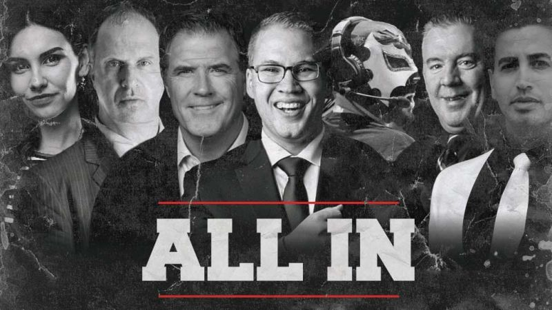 The Broadcast Team of ALL IN has some of the very best in the business