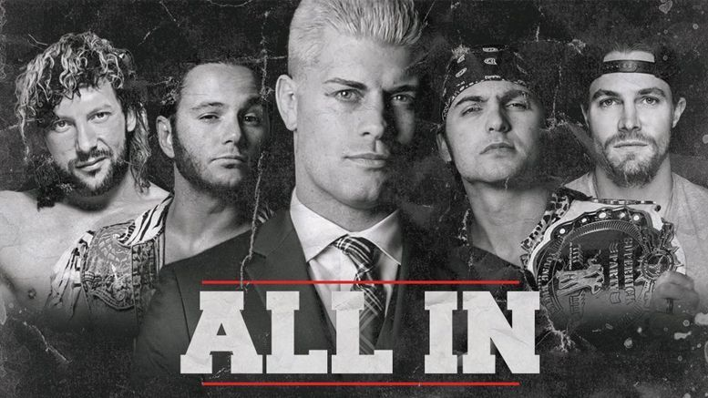 ALL IN will feature a number of high profile matches