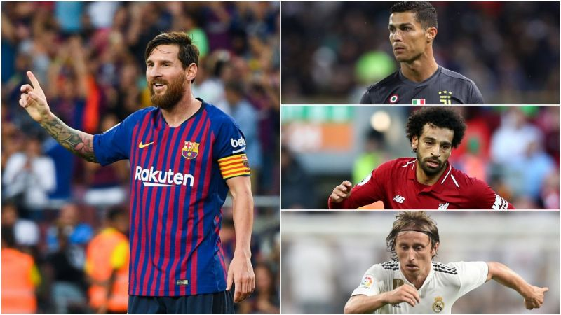 Image result for Cristiano Ronaldo, Luka Modric and Mohamed Salah best player Europe