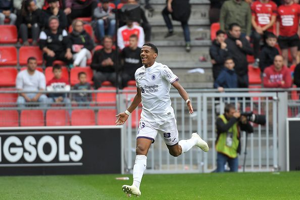 Jean-Clair Todibo is an 18-year-old rising French star who plays for Toulouse