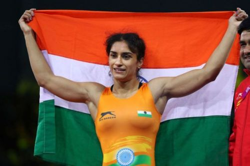 Phogat believes her attitude helps her on the mat