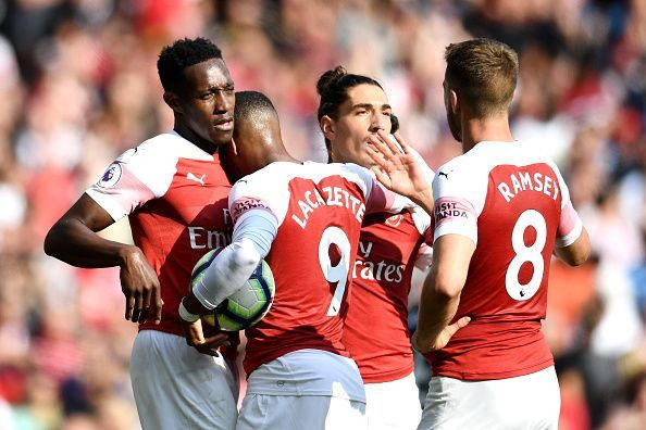 Arsenal enjoyed a 3-1 win over West Ham during the pair's most recent meeting earlier this season