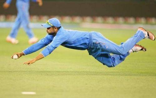 Suresh Raina is one of the best fielders India has ever seen
