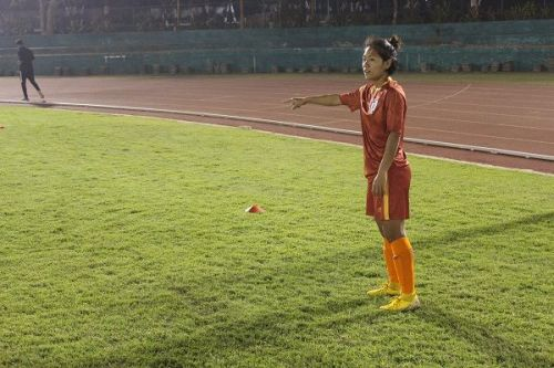 Dangmei Grace, Indian women's football team winger