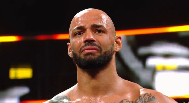 WWE NXT TakeOver New York News Ricochet Possibly Suffers Injury Will He Miss WrestleMania