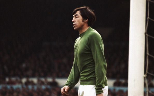 Gordon Banks won the World Cup with England but never captured a league title