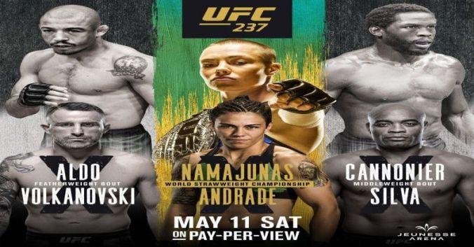 Image result for UFC 237: Namajunas vs. Andrade