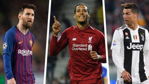 Van Dijk beat Lionel Messi and Cristiano Ronaldo to be named UEFA Player of the Year