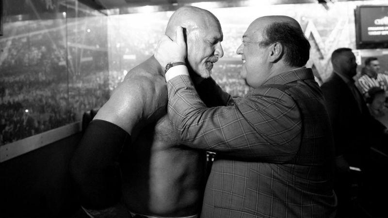 Paul Heyman and Goldberg