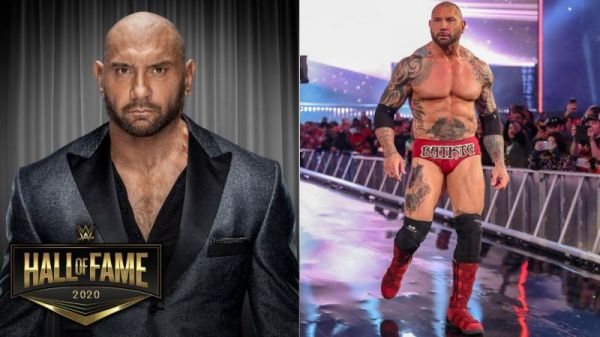 Batista reveals who will induct him into WWE Hall of Fame