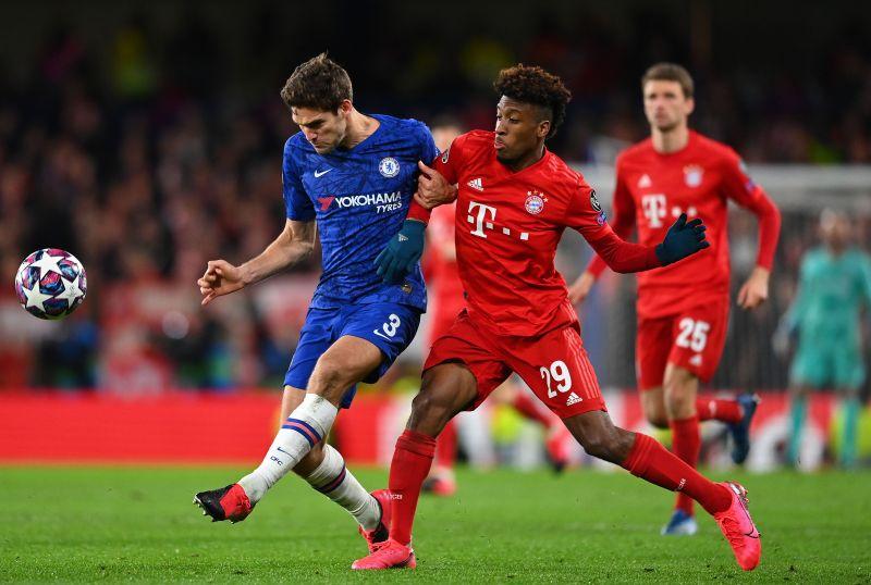Bayern Munich have a three-goal lead against Chelsea.
