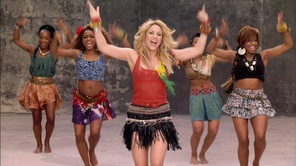 Video Shakiras Official 2014 FIFA World Cup Song La La La