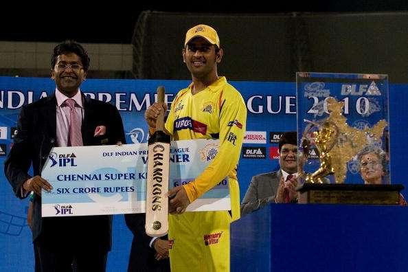 First Indian captain to win the IPL