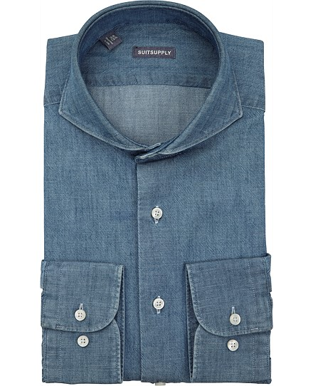 Blue_Washed_Shirt_Single_Cuff_H4505