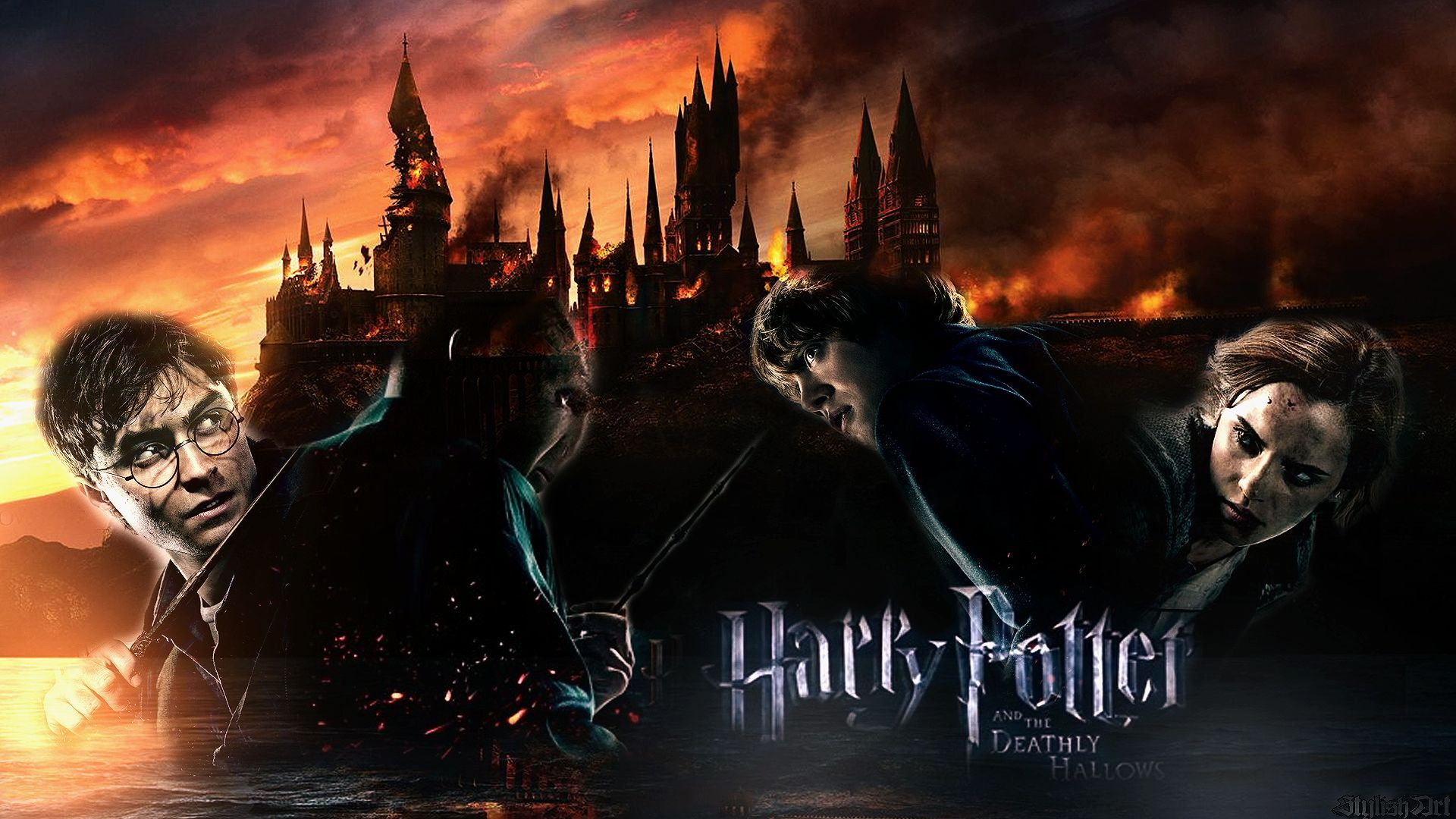 Lucius Potter Harry And Snape Malfoy