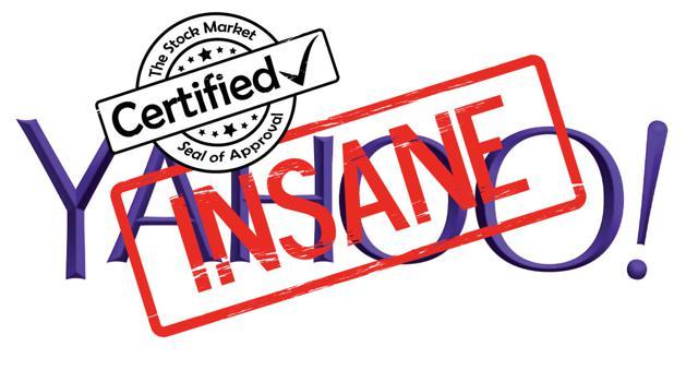 Yahoo Certified Insane