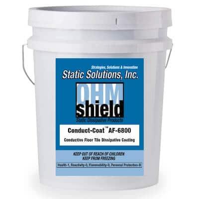 5 Gallon ESD Conductive dissipative floor coating